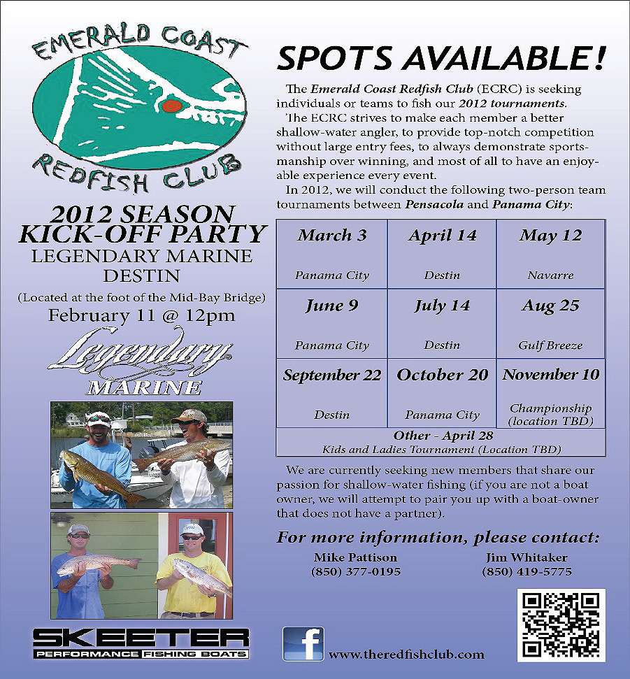 Emerald Coast Redfish Circuit Flyer